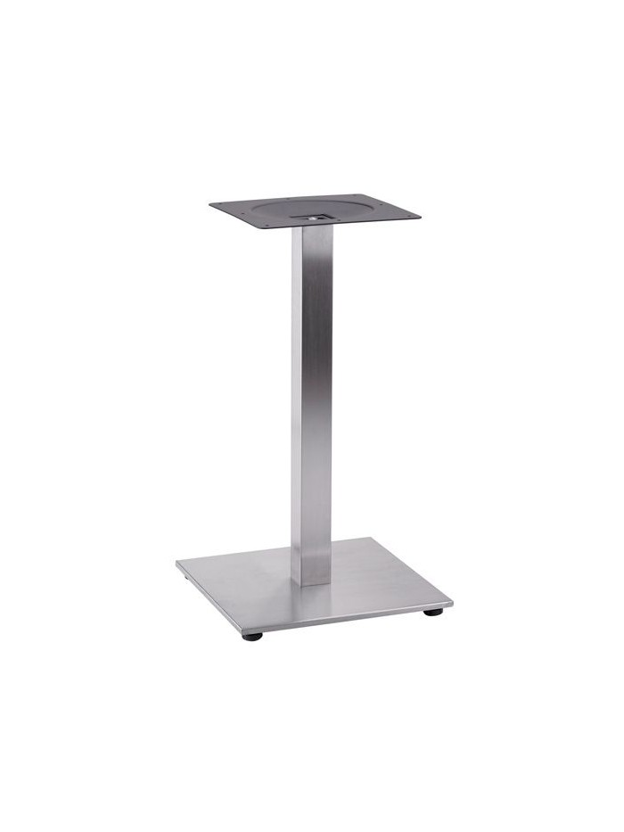 Tetra stainless steel fixed table leg